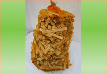 Anfeuerholz ca. 80 ltr. Sack | Holzstück-Länge ca. 20 cm