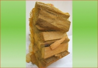 Buche Kamin-Holz 80 ltr. Sack | Holzstück-Länge ca. 33 cm